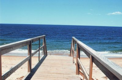 Private deeded beach access, walking distance.