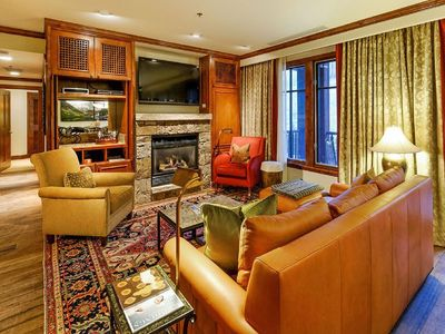 Photo for SKI-IN/ SKI-OUT 3 BEDROOM MOUNTAIN VIEW RESIDENCE AT THE RITZ CARLTON CLUB