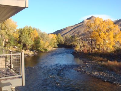 Photo for ON THE RIVER IN SALIDA....Clean and Spacious. Walk To Downtown STR 0234