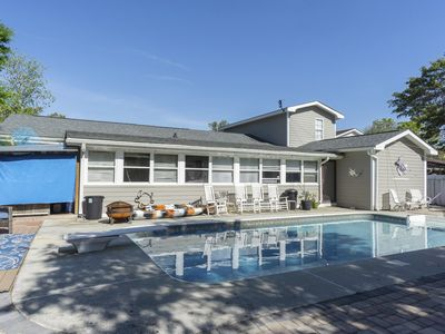 Photo for Barbee Beach House: 5 bedrooms with private hot tub and in-ground pool