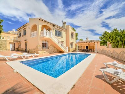 Photo for Moraira Villa, Sleeps 13 with Pool