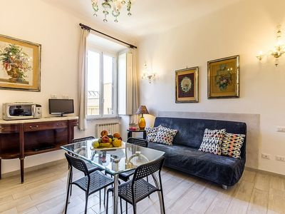 Photo for Appartamento Rina A: A bright and elegant apartment situated in a central location, a few steps from the main tourist attractions of Rome, with Free WI-FI.
