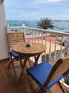Photo for CasabellAmare with balcony and sea views, beach at 50m, FREE WIFI and satellite TV