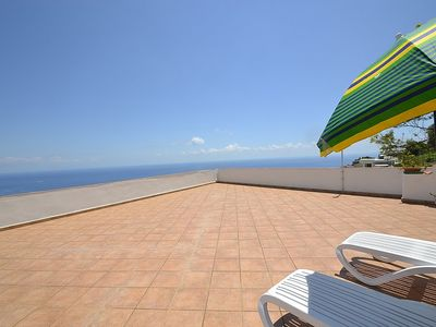 Photo for One bedroom Villa, sleeps 4 in Praiano with Air Con and WiFi