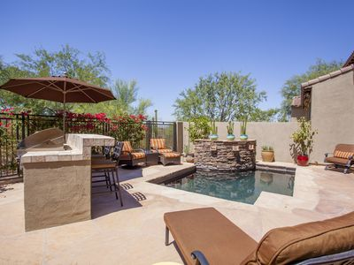 Photo for Grayhawk, Private Pool, Gated Community, Beautiful View On Golf Course, BBQ,WiFi