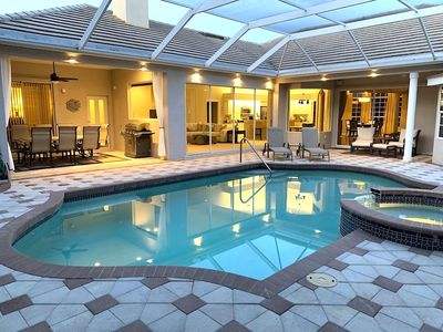 Photo for Brand new DREAM HOUSE with Heated Pool & Spa, 27-Holes Golf Course
