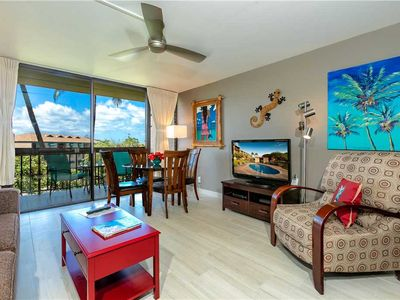 Photo for 100% remodel in summer '18. Peaceful Garden view oasis located at Maui Vista, sleeps 4. V3202