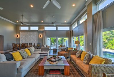 Make the most of your Florida retreat at this luxury 3BR, 5BA vacation rental.