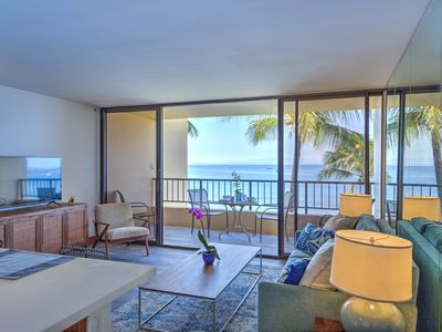 Photo for Newly renovated Oceanfront Condo!  Incredible Sunsets, Endless Views