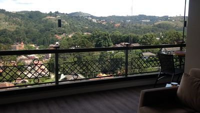 Photo for Renovated Flat with Spectacular Mountain View
