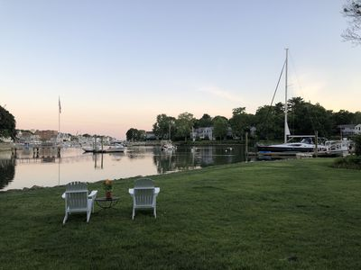 Photo for Waterfront Five Bedroom Home With Deep Water Dock
