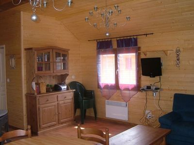 Photo for Les Silènes 1 - Chalet 3 * in Doucier-Lac and Restaurants nearby-