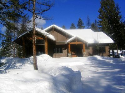 Photo for 5 Star Custom Private Home, 13 Acres, views, quiet, wildlife