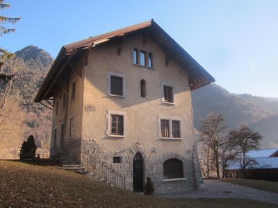 Photo for Large apartment entirely renovated between Morzine and Avoriaz with garden