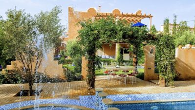 Photo for Marrakech luxury house half board included private pool linen will wash