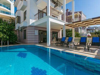 Photo for 3 Bedroom Villa with Private Pool very near the Sea & Use of Private Beach