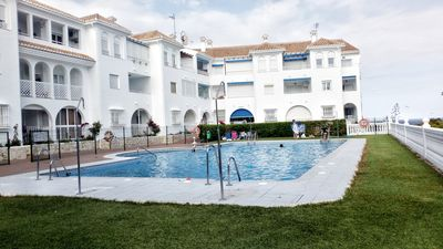 Photo for Fuentes de Nerja Apartment. Pool, Garden and Sea View