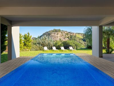 Photo for Ixian Hilltop Villa with private pool