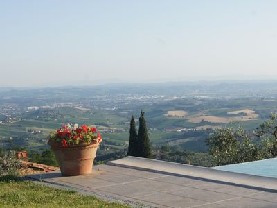 Photo for Apartment in agriturism, between olive groves and vineyards