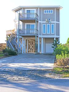 """Photo for WOW- June Special!! Oceanfront with pool and hot tub! BRAND NEW listing with PROACTIVE Vacations, """"A Blue Monkey"""" is a newly reconfigured & updated Ocean Front Home in the exclusive gated community of Holden Beach West.  UPDATED PHOTOS COMING SOON!"""
