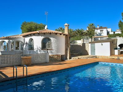 Photo for This 4-bedroom villa for up to 8 guests is located in Javea and has a private swimming pool.........
