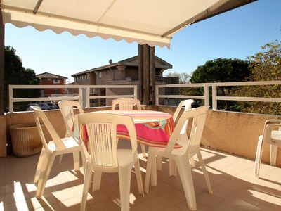 Photo for Studio cabin with terrace near the beach and Cavaliere trade