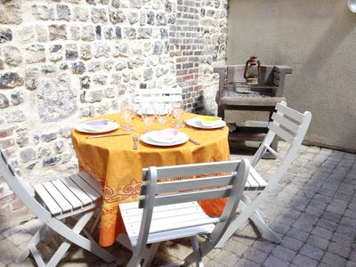 Photo for Homerez last minute deal - Nice house in Honfleur and Wifi