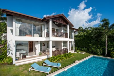 3 Bedroom Sea View Villa only minutes walk to Choeng Mon Beach