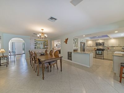 Photo for Just 2 miles to beaches, spacious open floor plan home, with pool and hot-tub.