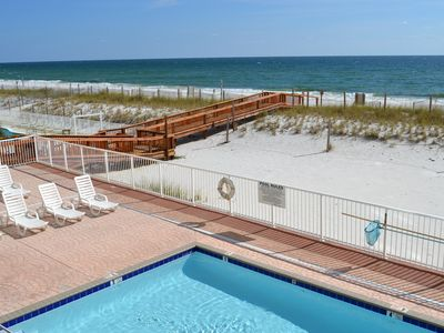 Photo for 102 FIVE STAR REVIEWS! 2bed/2bath DIRECTLY ON THE BEACH! BEAUTIFULLY DECORATED!!