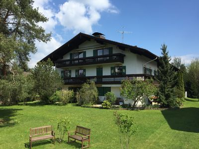 Photo for Exclusive and cozy apartment in the Chiemgau (Penthouse of a farm)