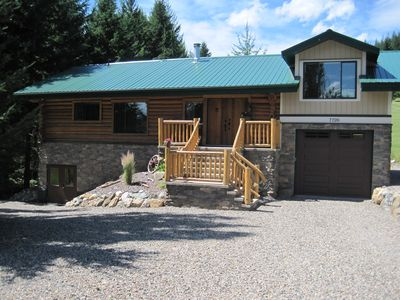 Photo for Fabulous Log Home Away From Home - Golf, Boating, Swimming, Hiking, Quadding