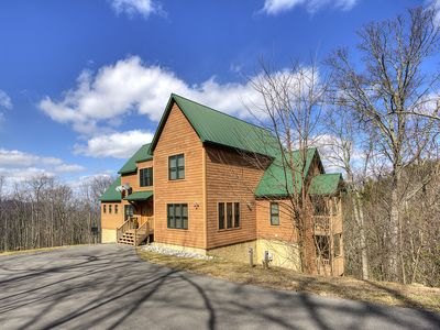 Photo for Cove Mountain Retreat Spacious 3BR/2.5BA Overlooking Seven Private Wooded Acres!