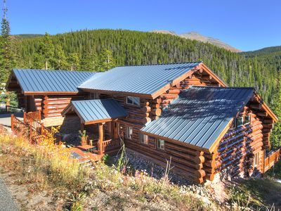 Photo for New Listing!  6500 Feet of Modern Luxurious Log Cabin with Great Amenities