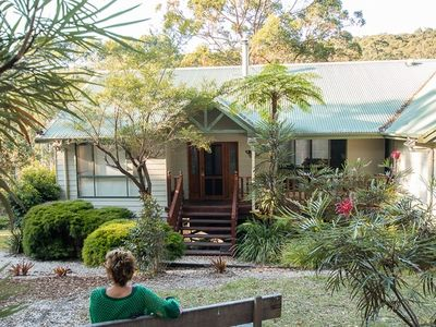 Photo for Get the relaxation fix and enjoy an eco retreat among the trees! Pet friendly.