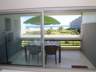 Photo for Canet-Plage Apartment, Sleeps 6 with WiFi