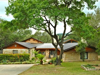 Photo for Private On Lake Travis -  Hill Country Retreat / Pool/2 Acres  7 Beds Sleeps 20