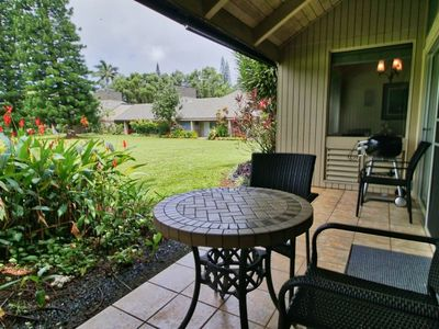 Photo for NEW! Princeville Mtn & Garden-View Condo w/ Lanai!