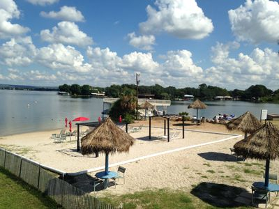Photo for Escape to my Tropical Gem on Lake LBJ! Beautiful 1/1 Condo, Beach,Pool