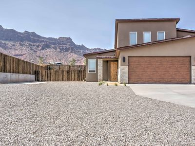 Photo for Modern Moab Townhome w/ Patio, Hot Tub & Views!