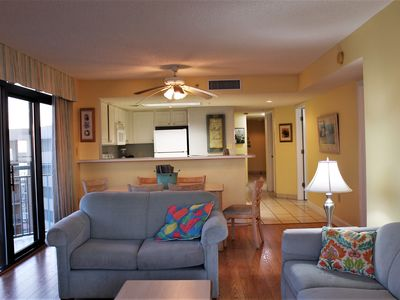 Photo for Breathtaking Coastal Views from this 3bd/3ba Condo w/Huge Wrap Around Balcony