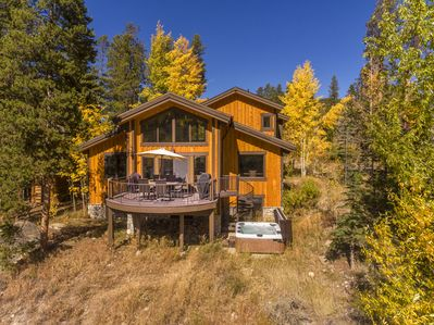 282 Elk Crossing on the golf course and river. Secluded but centrally located.