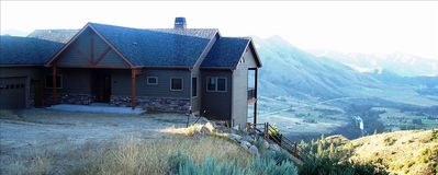 Situated on 18 acre lot with spectacular views