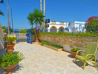 Photo for fine house with large terrace and sea view giadino
