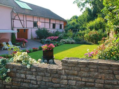 Photo for Cozy cottage South Alsace near the Swiss and German borders