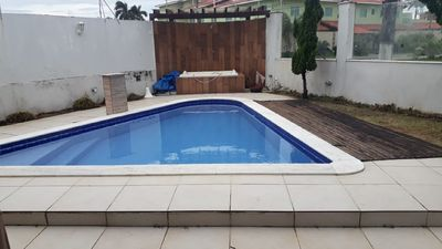 Photo for Casa Cibratel 1 Itanhaém with pool up to 15 people counting child