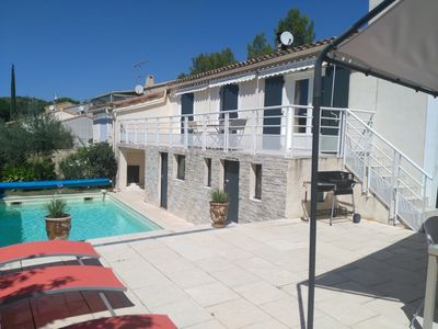 Photo for Villa 8 people with swimming pool near Avignon - ideal for families