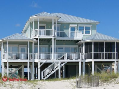 Photo for Double Wave - Pure Luxury 6 Br Gulf Front Private Beach Home, Sleeps 14