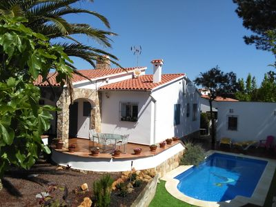 Photo for Delightful Villa close to the beach with Wi-Fi and Private Pool