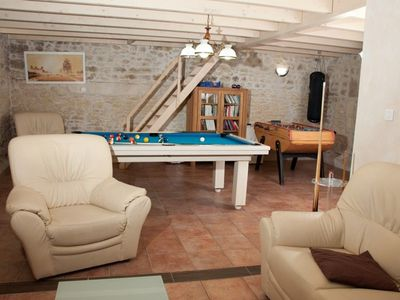 Photo for Holiday rental for 8 people with indoor pool